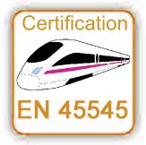 CERTIFICACIÓN EN45545